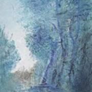 Sulle Soglie Del Bosco Art Print by Michel Croteau