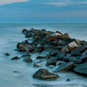 Sullivan's Island Rock Jetty Art Print