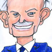 Sully Sullenberger Caricature Art Print