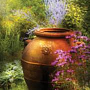 Summer - Landscape - The Urn Art Print