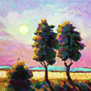 Summer Afternoon In The Fields Art Print
