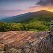 Summer Along The Appalachian Trail Art Print