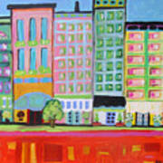 Summer Avenue Art Print
