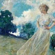 Summer Breeze 1915 Art Print