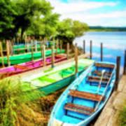 Summer Colors Art Print