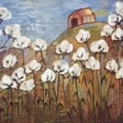 Summer Cotton Art Print