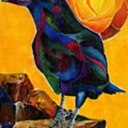Summer Crow 2 Art Print
