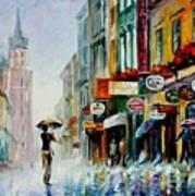 Summer Downpour Art Print