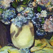 Summer Hydrangea Art Print