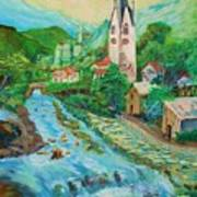 Summer In Alps Art Print