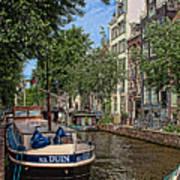 Summer In Amsterdam-1 Art Print