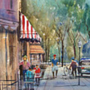 Summer In Cedarburg Art Print