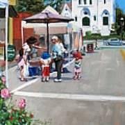 Summer In Hingham Art Print