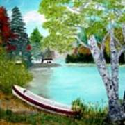 Summer In The Muskoka's Art Print