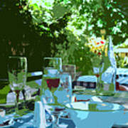 Summer Lunch Remembered Art Print