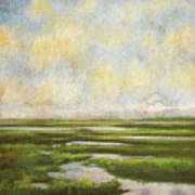 Summer Marsh Art Print