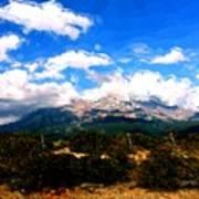 Summer On Mt. Shasta Art Print
