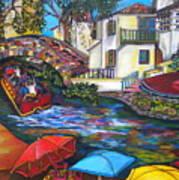 Summer On The River Art Print