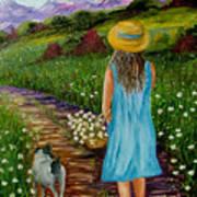 Summer Path Art Print