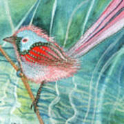 Summer Pond Daydreams Art Print