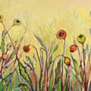 Summer Poppies Art Print
