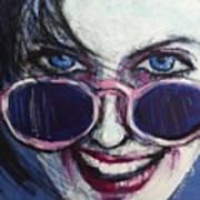 Summer - Portrait Of A Woman Art Print