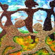 Summer Prairie Dance Art Print
