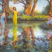 Summer Romantism. Art Print