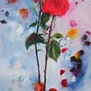 Summer Rose Art Print