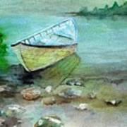 Summer Rowboat Art Print