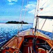 Summer Sailing Art Print