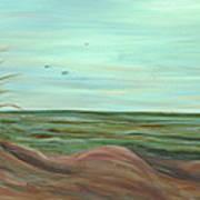 Summer Sand Dunes Art Print