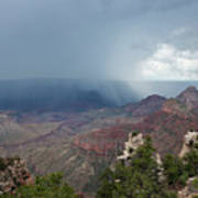 Summer Storm North Rim Grand Canyon National Park Arizona Art Print