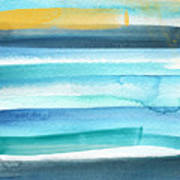 Summer Surf 2- Art By Linda Woods Art Print