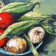 Summer Vegetables  Art Print