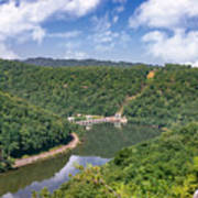 Summer View At Lovers Leap Art Print