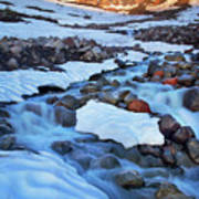 Summerland Creek Art Print