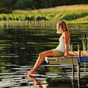 Summers Beauty Art Print