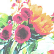 Summertime Blooms Art Print