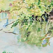 summertime V Art Print by Lucinda  Hansen