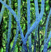 Summertree Fantasia Art Print