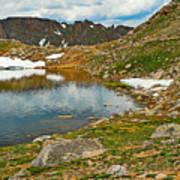 Summit Lake Study 5 Art Print