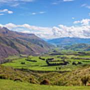 Summit View New Zealand II Art Print
