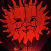 Sun And Fire Art Print