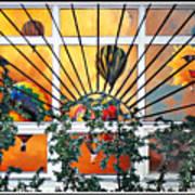 Sun And Hot Air Art Print