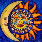 Sun And Moon Art Print