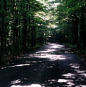 Sun And Shadow Road In Summer Imp Wc Art Print