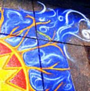 Sun And The Wind Art Print by Chris Montecalvo
