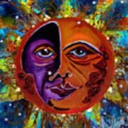 Sun Duality Art Print