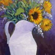 Sun Flower Song Art Print